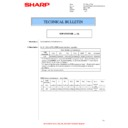 Sharp MX-4140N, MX-4141N, MX-5140N, MX-5141N (serv.man96) Technical Bulletin