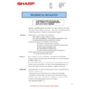 Sharp MX-4140N, MX-4141N, MX-5140N, MX-5141N (serv.man98) Technical Bulletin