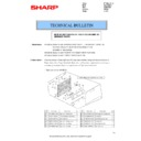 Sharp MX-4140N, MX-4141N, MX-5140N, MX-5141N (serv.man99) Technical Bulletin