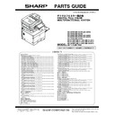 Sharp MX-5050N, MX-5050V, MX-5070N, MX-5070V, MX-6050N, MX-6050V, MX-6070N, MX-6070V (serv.man10) Parts Guide