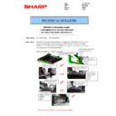 Sharp MX-5050N, MX-5050V, MX-5070N, MX-5070V, MX-6050N, MX-6050V, MX-6070N, MX-6070V (serv.man100) Technical Bulletin