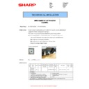 Sharp MX-5050N, MX-5050V, MX-5070N, MX-5070V, MX-6050N, MX-6050V, MX-6070N, MX-6070V (serv.man118) Technical Bulletin