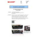 Sharp MX-5050N, MX-5050V, MX-5070N, MX-5070V, MX-6050N, MX-6050V, MX-6070N, MX-6070V (serv.man129) Technical Bulletin