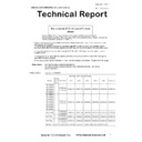 Sharp MX-5050N, MX-5050V, MX-5070N, MX-5070V, MX-6050N, MX-6050V, MX-6070N, MX-6070V (serv.man20) Technical Bulletin