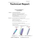 Sharp MX-5050N, MX-5050V, MX-5070N, MX-5070V, MX-6050N, MX-6050V, MX-6070N, MX-6070V (serv.man36) Technical Bulletin