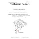 Sharp MX-5050N, MX-5050V, MX-5070N, MX-5070V, MX-6050N, MX-6050V, MX-6070N, MX-6070V (serv.man39) Technical Bulletin