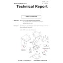 Sharp MX-5050N, MX-5050V, MX-5070N, MX-5070V, MX-6050N, MX-6050V, MX-6070N, MX-6070V (serv.man40) Technical Bulletin