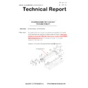 Sharp MX-5050N, MX-5050V, MX-5070N, MX-5070V, MX-6050N, MX-6050V, MX-6070N, MX-6070V (serv.man47) Technical Bulletin