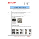 Sharp MX-5050N, MX-5050V, MX-5070N, MX-5070V, MX-6050N, MX-6050V, MX-6070N, MX-6070V (serv.man53) Technical Bulletin