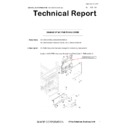 Sharp MX-5050N, MX-5050V, MX-5070N, MX-5070V, MX-6050N, MX-6050V, MX-6070N, MX-6070V (serv.man61) Technical Bulletin
