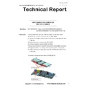 Sharp MX-5050N, MX-5050V, MX-5070N, MX-5070V, MX-6050N, MX-6050V, MX-6070N, MX-6070V (serv.man68) Technical Bulletin