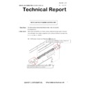 Sharp MX-5050N, MX-5050V, MX-5070N, MX-5070V, MX-6050N, MX-6050V, MX-6070N, MX-6070V (serv.man70) Technical Bulletin