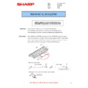 Sharp MX-5500N, MX-6200N, MX-7000N (serv.man104) Technical Bulletin