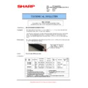 Sharp MX-5500N, MX-6200N, MX-7000N (serv.man110) Technical Bulletin