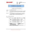 MX-5500N, MX-6200N, MX-7000N (serv.man113) Technical Bulletin