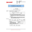 Sharp MX-5500N, MX-6200N, MX-7000N (serv.man114) Technical Bulletin