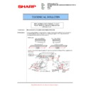 Sharp MX-5500N, MX-6200N, MX-7000N (serv.man115) Technical Bulletin