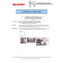 Sharp MX-5500N, MX-6200N, MX-7000N (serv.man117) Technical Bulletin