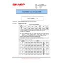Sharp MX-5500N, MX-6200N, MX-7000N (serv.man119) Technical Bulletin