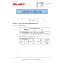 Sharp MX-5500N, MX-6200N, MX-7000N (serv.man120) Technical Bulletin
