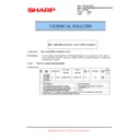 Sharp MX-5500N, MX-6200N, MX-7000N (serv.man123) Technical Bulletin