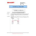 Sharp MX-5500N, MX-6200N, MX-7000N (serv.man124) Technical Bulletin