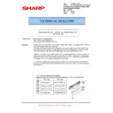 Sharp MX-5500N, MX-6200N, MX-7000N (serv.man127) Technical Bulletin