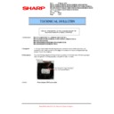 Sharp MX-5500N, MX-6200N, MX-7000N (serv.man128) Technical Bulletin