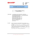 Sharp MX-5500N, MX-6200N, MX-7000N (serv.man129) Technical Bulletin