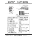 Sharp MX-5500N, MX-6200N, MX-7000N (serv.man13) Peripheral