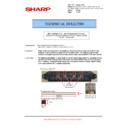 Sharp MX-5500N, MX-6200N, MX-7000N (serv.man130) Technical Bulletin