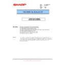 Sharp MX-5500N, MX-6200N, MX-7000N (serv.man132) Technical Bulletin