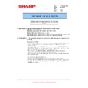 Sharp MX-5500N, MX-6200N, MX-7000N (serv.man134) Technical Bulletin
