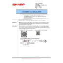 MX-5500N, MX-6200N, MX-7000N (serv.man136) Technical Bulletin