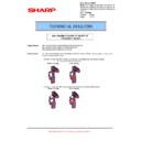 Sharp MX-5500N, MX-6200N, MX-7000N (serv.man140) Technical Bulletin