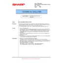 Sharp MX-5500N, MX-6200N, MX-7000N (serv.man142) Technical Bulletin