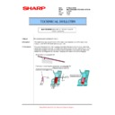 Sharp MX-5500N, MX-6200N, MX-7000N (serv.man143) Technical Bulletin