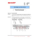 Sharp MX-5500N, MX-6200N, MX-7000N (serv.man151) Technical Bulletin