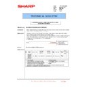 Sharp MX-5500N, MX-6200N, MX-7000N (serv.man153) Technical Bulletin