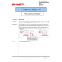 Sharp MX-5500N, MX-6200N, MX-7000N (serv.man191) Technical Bulletin