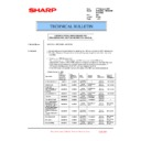 Sharp MX-5500N, MX-6200N, MX-7000N (serv.man196) Technical Bulletin