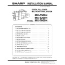 MX-5500N, MX-6200N, MX-7000N (serv.man74) Service Manual