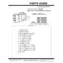 Sharp MX-5500N, MX-6200N, MX-7000N (serv.man79) Parts Guide