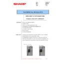 Sharp MX-5500N, MX-6200N, MX-7000N (serv.man96) Technical Bulletin