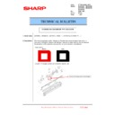 Sharp MX-5500N, MX-6200N, MX-7000N (serv.man98) Technical Bulletin