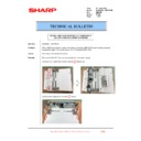 Sharp MX-6500N, MX-7500N (serv.man105) Technical Bulletin