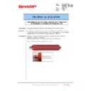 Sharp MX-6500N, MX-7500N (serv.man108) Technical Bulletin