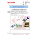Sharp MX-6500N, MX-7500N (serv.man109) Technical Bulletin