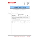 Sharp MX-6500N, MX-7500N (serv.man111) Technical Bulletin