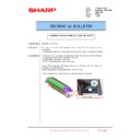 Sharp MX-6500N, MX-7500N (serv.man118) Technical Bulletin